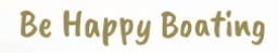 Happy boating logo with redirection